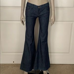 SAMPLE! Dittos 70's Disco Inspired Mega Flare Jean